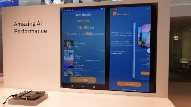 Der Kirin 980 wird auf dem Huawei-Stand der Ifa 2018 bereits gezeigt. (Foto: t3n.de)