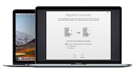 Der überarbeitete Migrations-Assistent soll den Wechsel von Windows auf macOS Mojave reibungsloser gestalten. (Bild: Apple)