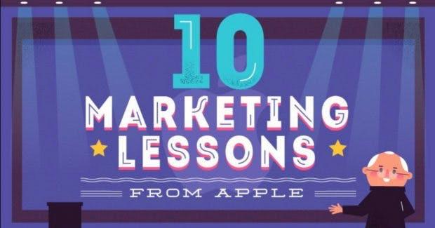 Apples Marketing-Lektionen
