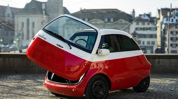 Isetta-Comeback: Microlino kommt mit Elektromotor 2019 nach Deutschland