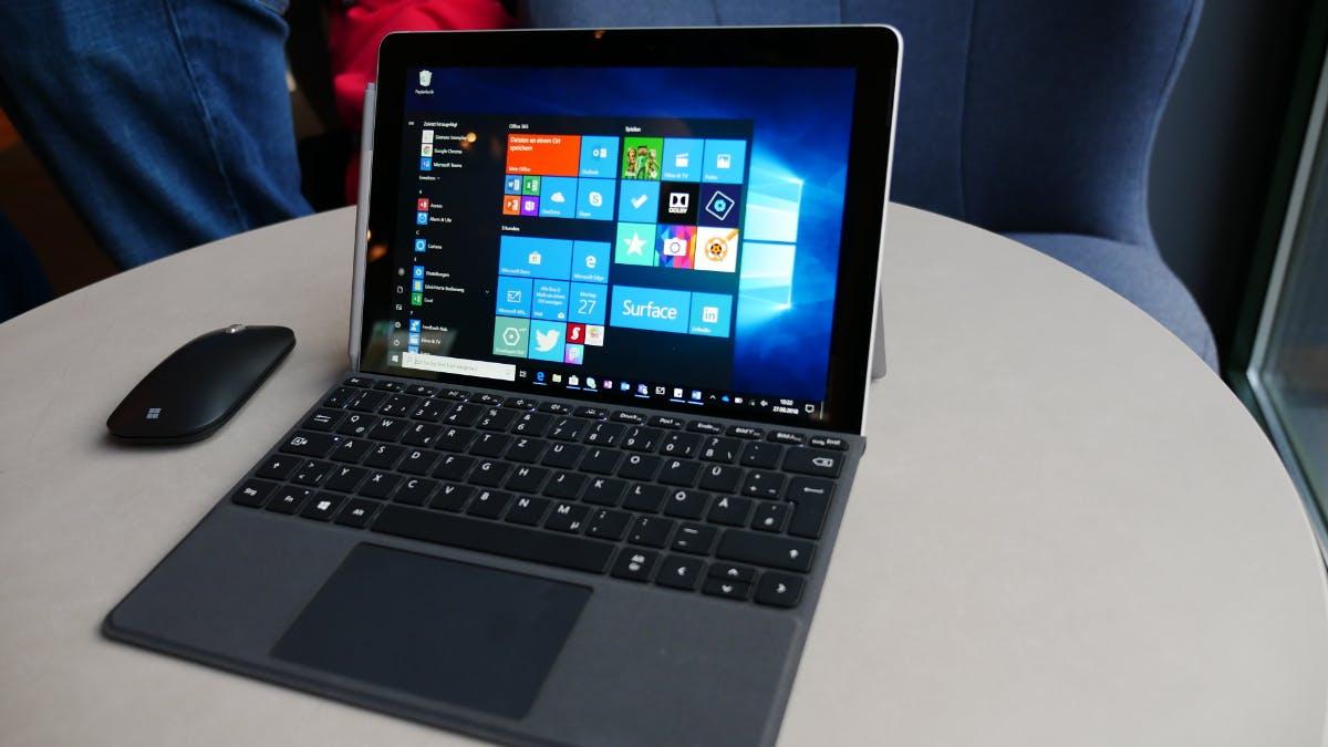Surface Go: Das ist Microsofts günstigeres 2-in-1-Gerät