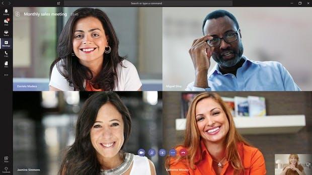 Nutzung von Microsofts Teams-Lösung wegen Coronavirus versechsfacht