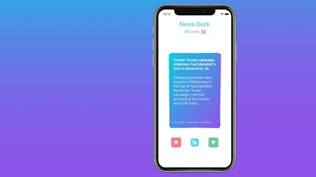 News-Deck: Praktische RSS-App kommt mit Swipe-Bedienung