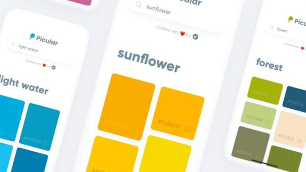 """Picular: """"Wie Google, aber für Farben"""""""