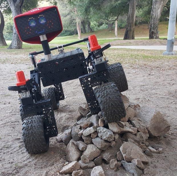 Raspberry Pi: Ein Mini-Mars-Rover zum Selberbauen. (Foto: JPL)