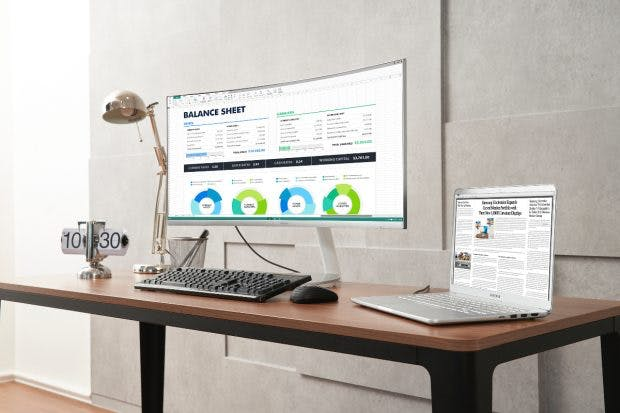Ab Mitte September soll Samsungs neuer Monitor im Handel zu einer UVP von 999 Euro verfügbar sein. (Foto: Samsung)
