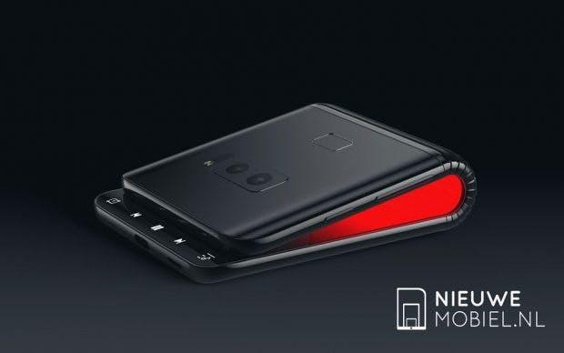 So könnte das Samsung Galaxy F aussehen. (Renderbild: Nieuwemobiel)
