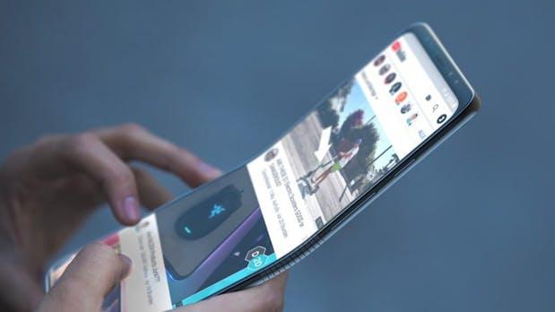 Samsung Galaxy F: Erste Details zum Smartphone mit faltbarem Display noch in diesem Jahr