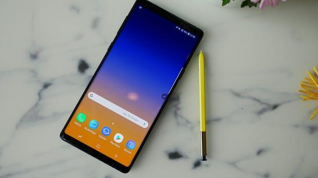 """Samsung Galaxy Note 9 im Test: """"Einmal Smartphone mit alles, bitte"""""""