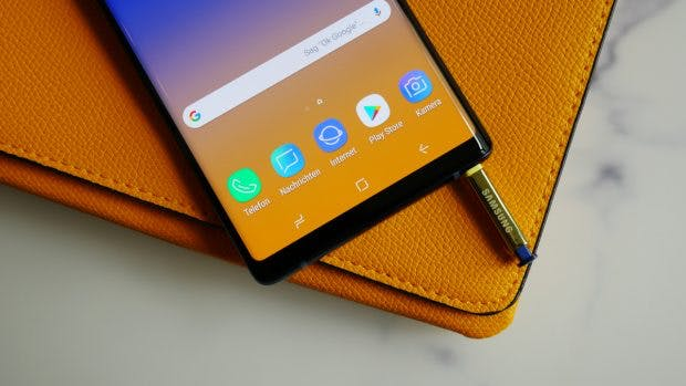 Samsung Galaxy Note 9. (Foto: t3n.de)
