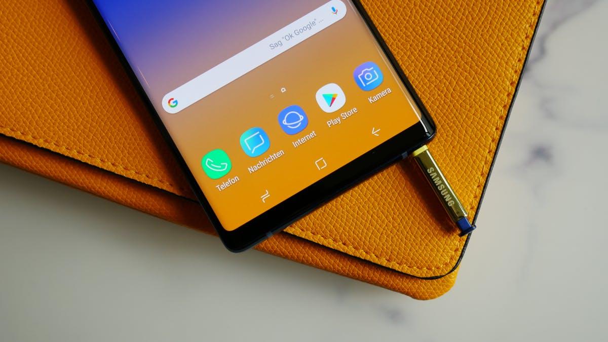 Samsung hat das Galaxy Note 9 enthüllt: Neues High-End-Phablet mit massivem Akku und viel Speicher