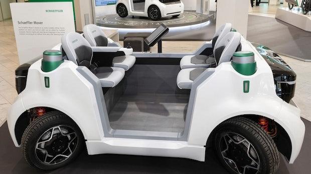 Deutscher Konzern Schaeffler kauft Technologie für autonome Autos