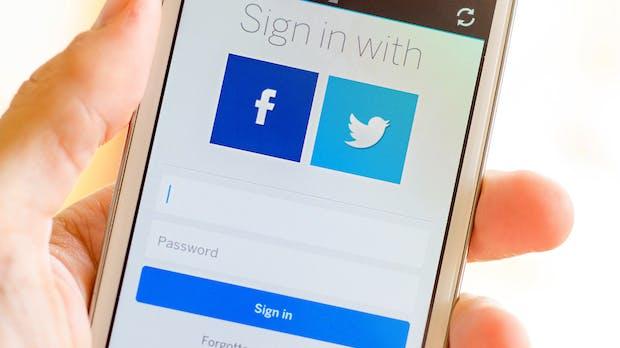 Social Logins: Eine Browser-Erweiterung soll persönliche Daten schützen