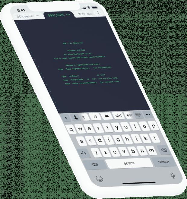 Die App Terminus: Mehr als nur ein simpler SSH-Client. (Grafik: Crystalnix)