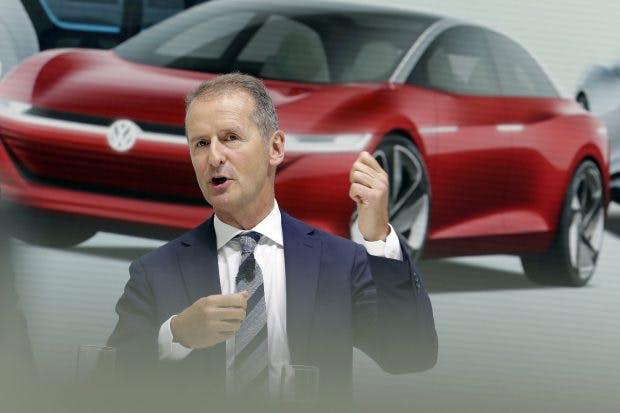 VW-Konzernchef Herbert Diess. (Foto: dpa)