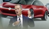 VW-Chef Diess warnt Autobranche vor Nokia-Situation