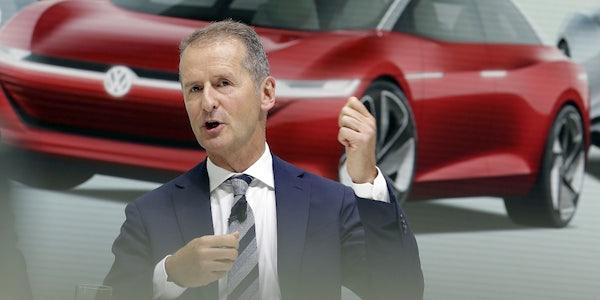 VW-Chef Diess mahnt zu mehr Geschwindigkeit im Wandel zum Tech-Konzern