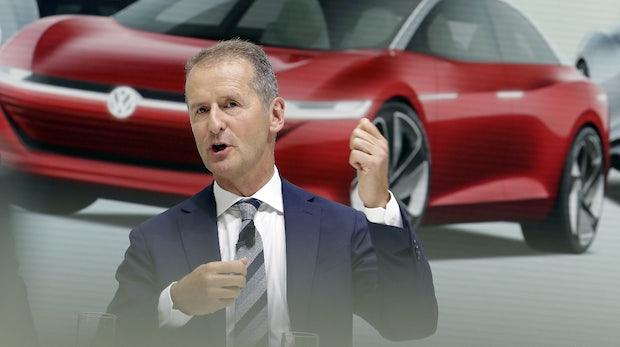 """VW-Chef Diess zu E-Mobilität: """"Wir erwarten keine sinkenden Margen"""""""