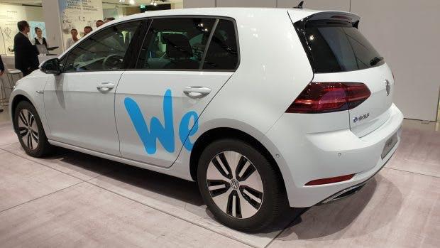 Volkswagen We versammelt unterschiedliche Mobilitätsdienste unter einer Marke. (Foto: t3n)