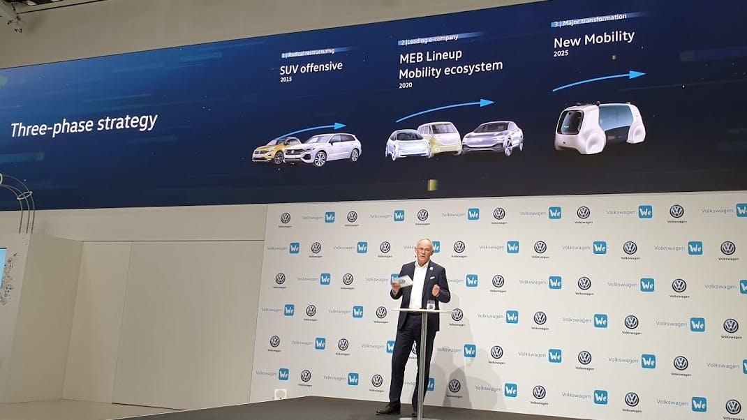 Digitalisierungsoffensive: VW pumpt 3,5 Milliarden Euro in digitale Transformation