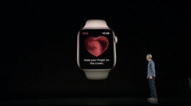apple watch series 4 die neue smartwatch hat mehr display. Black Bedroom Furniture Sets. Home Design Ideas