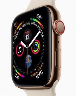 Die LTE Version Der Series 4 Kommt Mit Einem Subtilen Roten Ring Aus Foto Apple