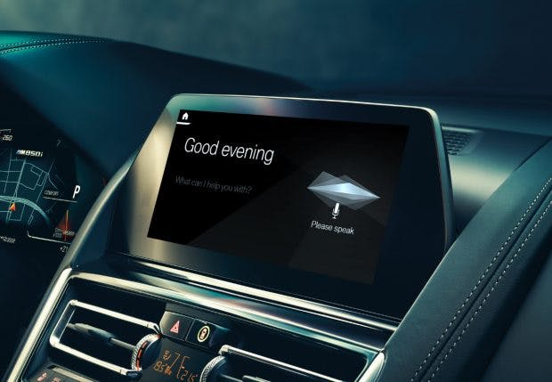 BMW Intelligent Personal Assistant. (Foto: BMW)