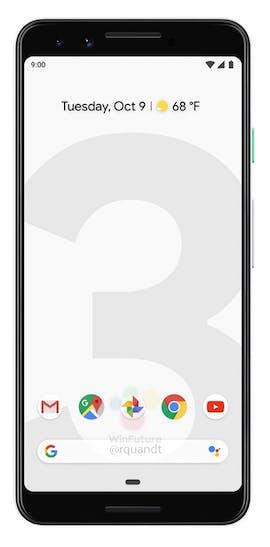 Pressebilder des Google Pixel 3. (Bild: Google; Winfuture)