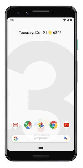 Pressebild des Google Pixel 3. (Bild: Google; Winfuture)