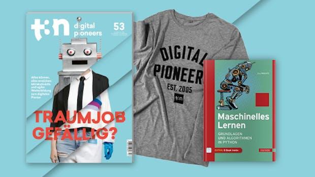 "t3n Abo inklusive Hanser-Fachbuch ""Maschinelles Lernen"""