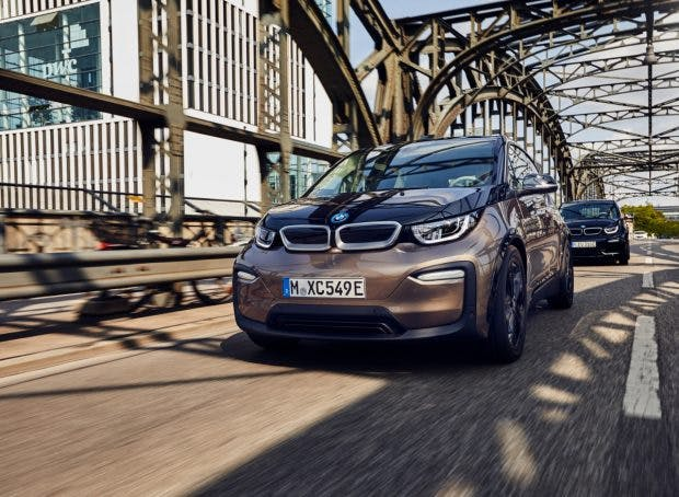 Der BMW i3 120 Ah. (Foto: BMW)