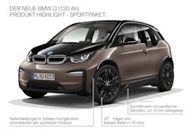 Die neuen Ausstattungs-Optionen des BMW i3. (Foto: BMW)