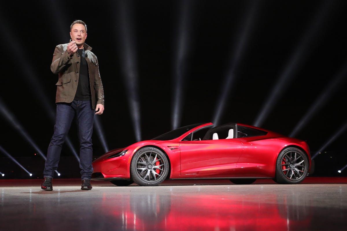Tesla Roadster. (Bild: Tesla)