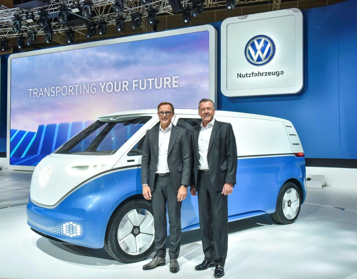 I.D. Buzz Cargo und mehr: VW präsentiert neue Elektro-Transporter