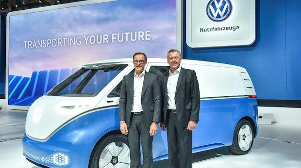 I.D. Buzz Cargo und mehr: VW stellt neue E-Transporter vor