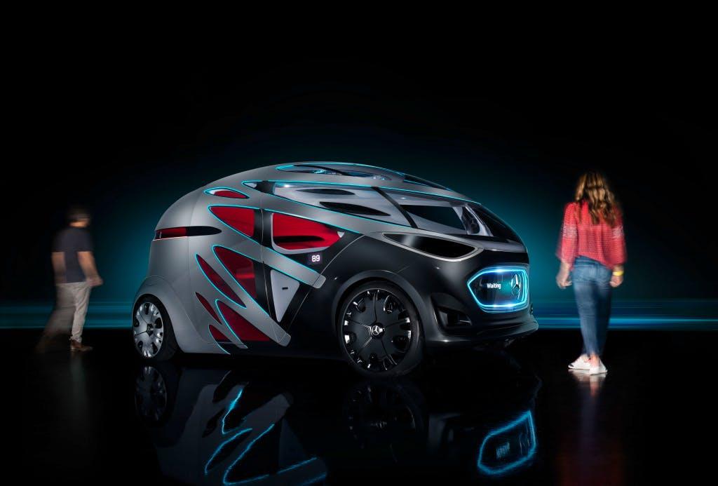 Vision Urbanetic – Mercedes-Benz präsentiert autonomes Mobilitätskonzept