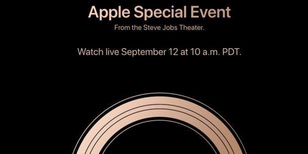 Am 12. September geht es ab 19 Uhr abends los.(Screenshot: Apple)