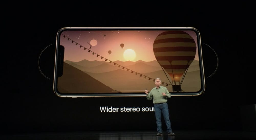 iPhone Xs kommt mit Stereo-Sound. (Screenshot: t3n.de)