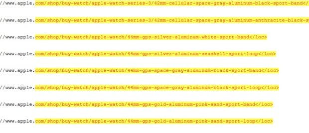 Die Apple Watch Series 4 wird größer als die bisherigen Modelle. (Screenshot: 9to5Mac)
