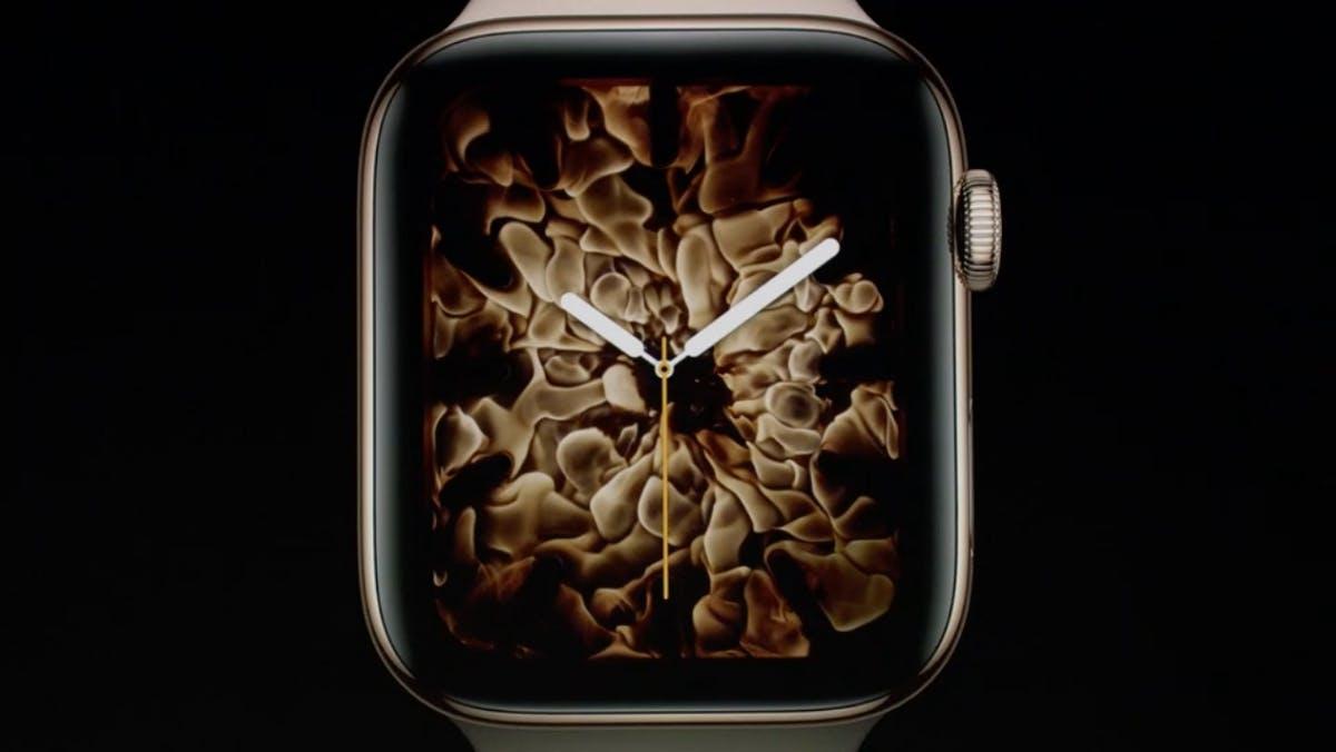 Apple Watch Series 4: Die neue Smartwatch hat mehr Display und integriertes EKG