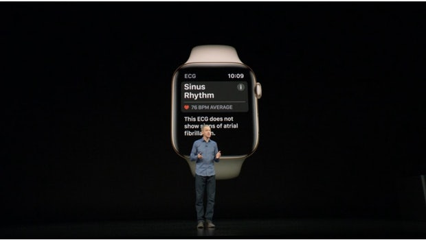 Apple Watch Series 4. (Screenshot: Apple/t3n.de)