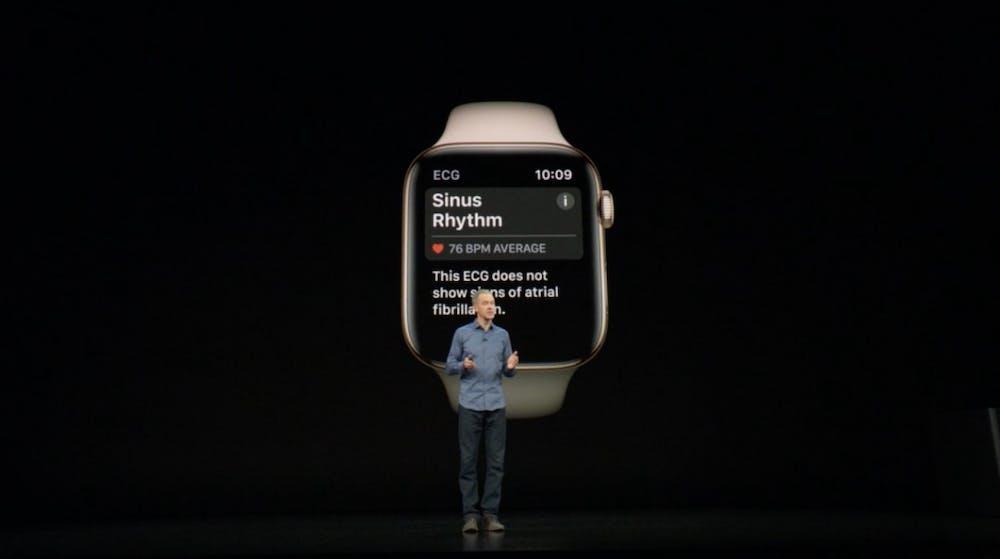 Apple Watch Series 4 kann jetzt auch in Deutschland zur EKG-Messung eingesetzt werden. (Screenshot: Apple/t3n.de)