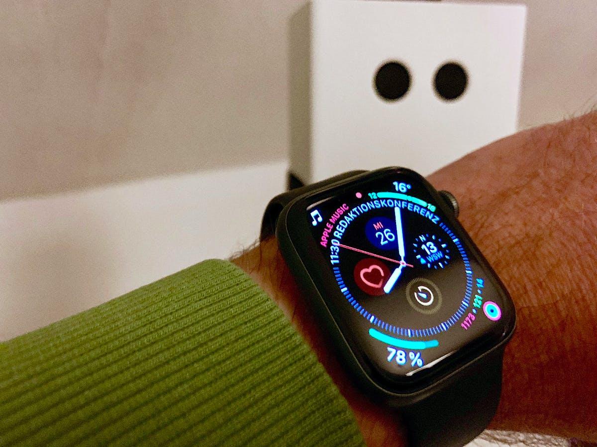 Apple Watch Series 4: So schlägt sie sich im Alltagstest
