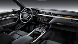 Der Innenraum des Audi E-Tron. (Foto:Audi)