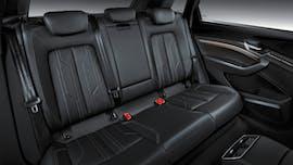 Der Fond des Audi E-Tron. (Foto:Audi)