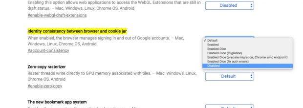 Immerhin: Die Änderungen könnt ihr in Chrome deaktivieren. (Screenshot: Chrome / t3n.de)