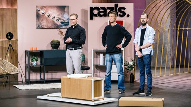 Pazls: Diese Gründer wollen mit Puzzle-Logik den Möbelmarkt aufmischen