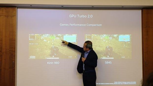 Mit EMUI 9 wird der GPU-Turbo in Version 2.0 veröffentlicht. (Foto. t3n.de)