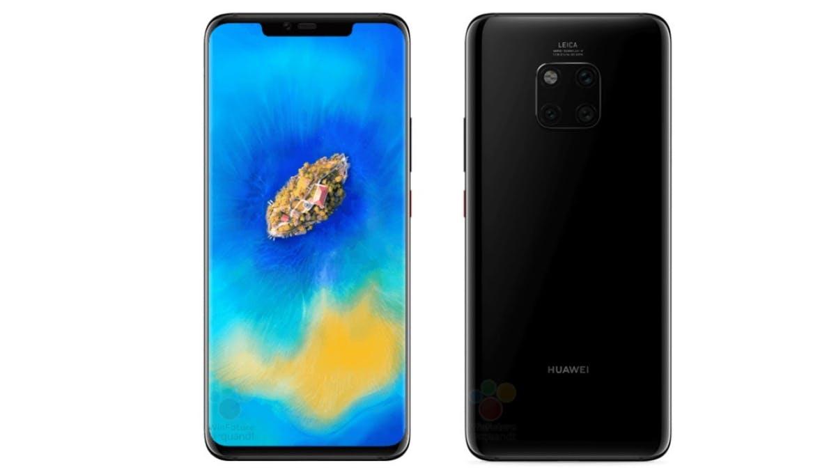 Das Huawei Mate 20 Pro in Schwarz. (Bild: Winfuture)