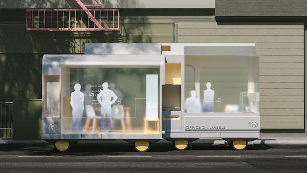 Autonomes Fahren: Ikea träumt von rollenden Hotels, Arztpraxen und Cafés